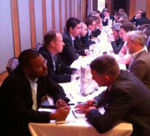 Speed Networking at Telco Cloud World Forum 2013
