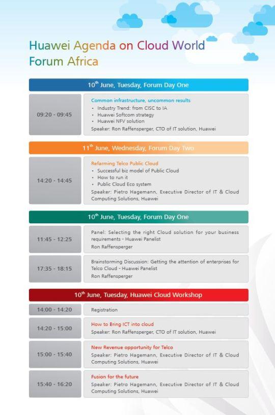 Huawei Invite.JP agenda